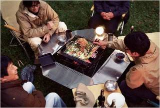 MESA CHURRASQUEIRA - JIKARO FIRERING TABLE