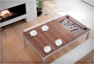 MESA DE BILHAR-SINUCA E JANTAR - FUSION TABLES - Imagem - 2