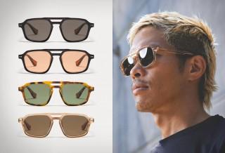 Óculos de Sol Feitos à Mão de Alta Qualidade - MISSION WORKSHOP NAVIGATOR SUNGLASSES