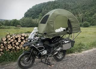 Tenda Montada Mobed Motorcycle - Imagem - 2