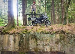Tenda Montada Mobed Motorcycle - Imagem - 5