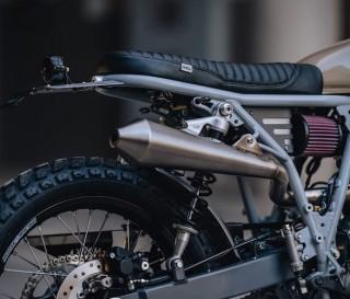Moto Honda Mokka XR650 Scrambler - Imagem - 4