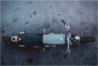 MOTO PERSONALIZADA YAMAHA SR250 - Imagem - 2
