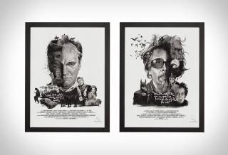 Retratos Ilustrados de Diretores de Filmes