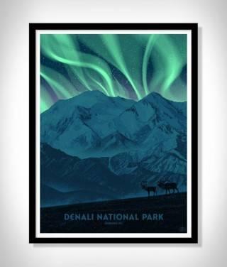 Cartazes - Série Impressão de Parques Nacionais - Imagem - 3