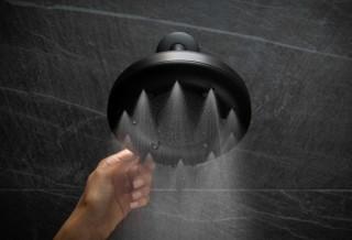 Chuveiro de alta pressão e economia de água