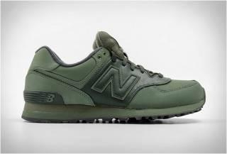 Tênis New Balance 574 | Verde Militar Intenso