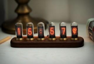 Relógio de Tubo Soviético - NEXTUBE RETRO NIXIE CLOCK