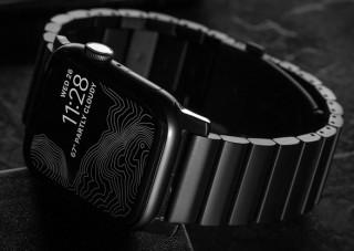 Pulseira de metal para Apple Watch - NOMAD TITANIUM BAND - Imagem - 2