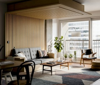 Móveis Flexiveis e Funcionais - ORI Transformable Furniture - Imagem - 2