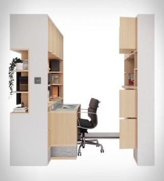 Móveis Flexiveis e Funcionais - ORI Transformable Furniture - Imagem - 3