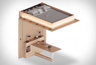 Móveis Flexiveis e Funcionais - ORI Transformable Furniture