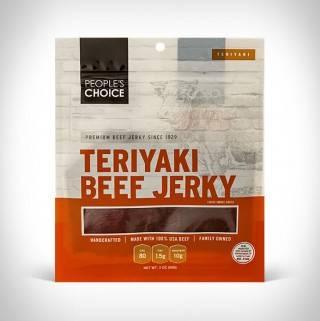 Aperitivos de Carne | People`s Choice Beef Jerky - Imagem - 3