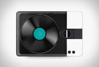 Fábrica de Vinil Portátil - PHONOCUT HOME VINYL RECORDER