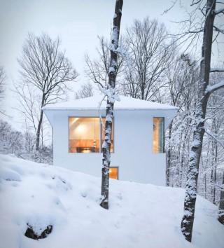 Cabana Branca Aconchegante - POISSON BLANC CABIN - Imagem - 2