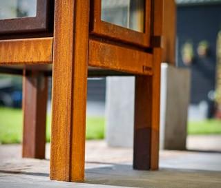 Elegante Fogão a Lenha com um Visual Moderno - Imagem - 2