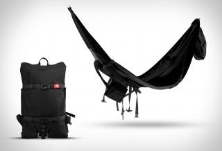 Nomad Hammock - Uma Rede que se transforma em mochila