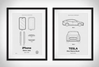 Ilustrações Patentes Retro