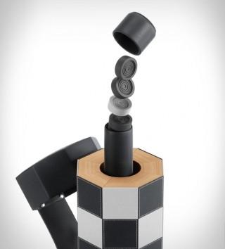 Jogo de Xadrez e Damas Portátil - Imagem - 3