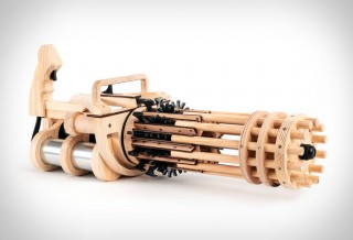 Metralhadora RUBBER BAND MINIGUN