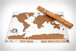 MAPA MUNDO COM OS LUGARES QUE VOCÊ JÁ VISITOU - SCRATCH OFF WORLD MAP - Imagem - 5