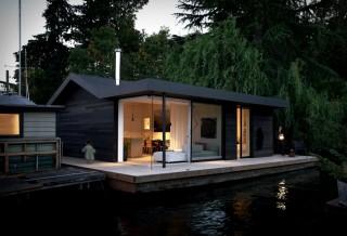Espetacular Casa Flutuante - SEATTLE FLOATING HOUSE