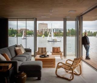Casa Flutuante Moderna e Contemporânea - SEATTLE WATER CABIN - Imagem - 5