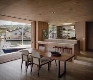 Casa Flutuante Moderna e Contemporânea - SEATTLE WATER CABIN - Imagem - 3