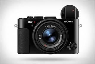 Câmera espetacular do tamanho da palma da mão - RX1R II - Sony