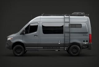 Transformar Vans em Autênticos Trailers para Campismo - STEALTH MODE ADVENTURE VAN
