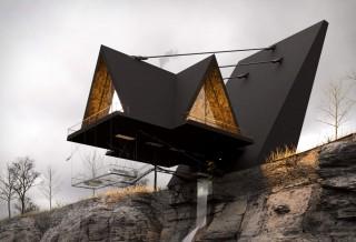 Casa Flutuante Espetacular - SUSPENDED HOUSE