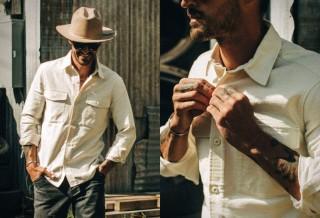 Camisa Masculina - TAYLOR STITCH POINT SHIRT