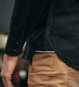 Camisa Preta Estilo Americana - TAYLOR STITCH WESTERN SHIRT - Imagem - 2