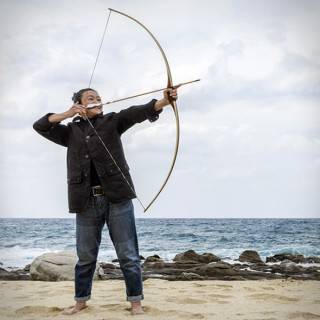 Arco e Flecha - Longbow Americano - Imagem - 5