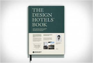LIVRO DE VIAGENS COM HOTÉIS DE LUXO - THE DESIGN HOTELS BOOK 2015