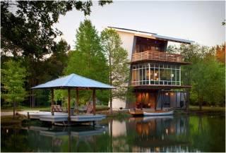 Casa na Lagoa - The Pond House | Por Holly & Smith Arquitetos