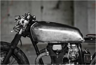 MOTO PERSONALIZADA THE SALANDER - Imagem - 3