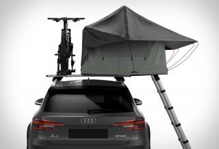 Barraca para telhado do carro