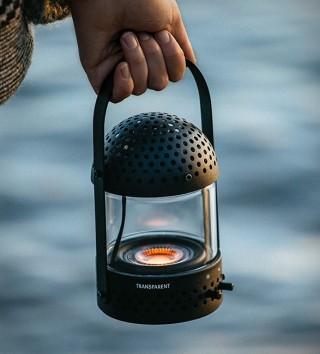 Lanterna de vidro com alto-falante - Light Speaker - Imagem - 2