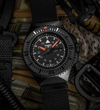 Os Melhores Relógios no Estilo Militar - TRASER P69 BLACK STEALTH WATCH - Imagem - 3