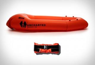 Bote de Resgate Inflável - UNCHARTED PACK RAFT