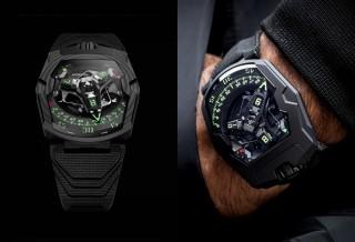 Relógio Vanguardistas e Inovador - Urwerk UR-220 Watch