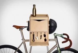 Suporte com armário para Bicicleta Butler - Imagem - 2
