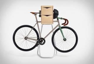 Suporte com armário para Bicicleta Butler