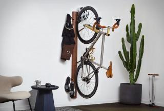 Armazenamento vertical - Suporte para guardar Bicicleta