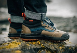 Sapatos para Surfistas - Vans + Finisterre UltraRange Hi DL