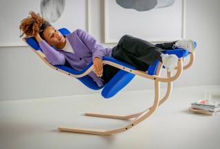 Cadeira permite que você relaxe totalmente na ausência de gravidade - VARIER GRAVITY