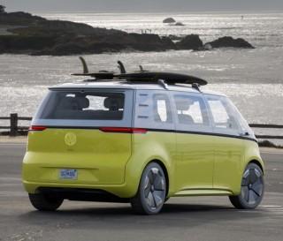 Kombi elétrica Buzz ID da Volkswagen - Imagem - 4