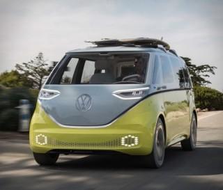 Kombi elétrica Buzz ID da Volkswagen - Imagem - 2