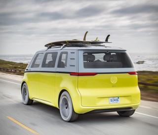 Kombi elétrica Buzz ID da Volkswagen - Imagem - 3